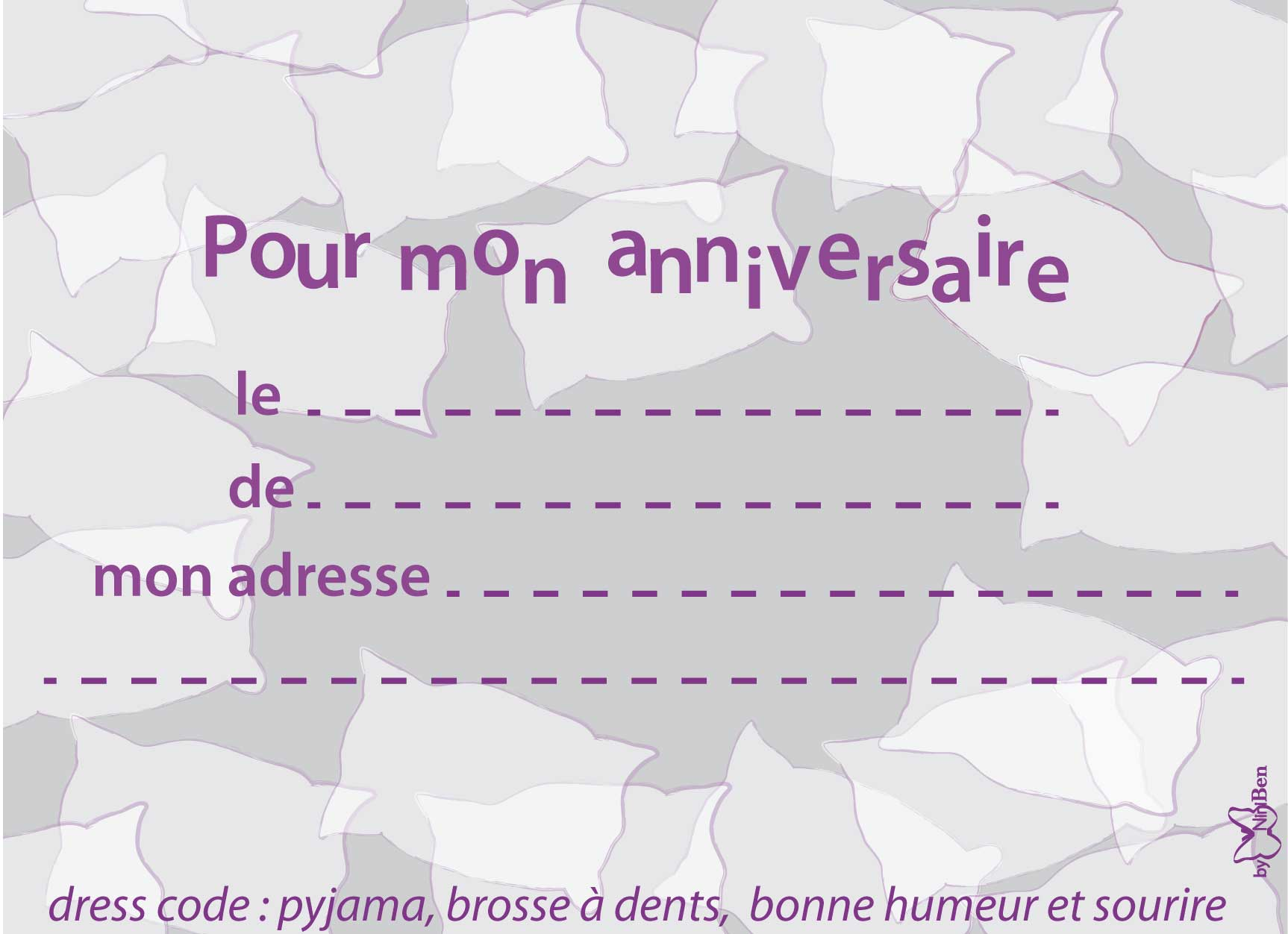 Top verso-pyjama-party-invitation | Les 1000 fêtes de Mademoiselle S. LK57