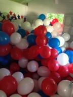 J-1 : stockage de 500 ballons