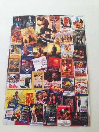 Le support du DVD s'ouvre comme un poster avec les affiches