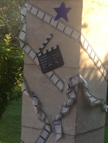 "Un pilier customisé ""Cinéma"""