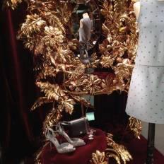 Dolce Gabbana vitrine, Paris