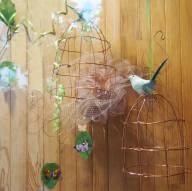 cages à oiseaux homemade