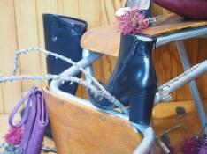 boots-marine-cuir